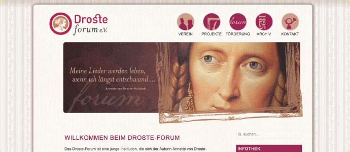 Droste-Forum-Webseite