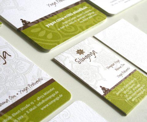 Visitenkarte-Simyoga-Design