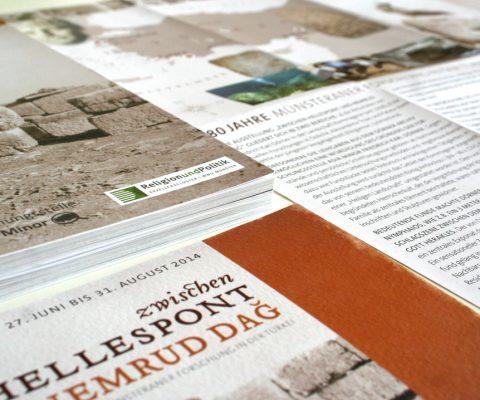 Design-Printmedien-Ausstellung-Kommagene