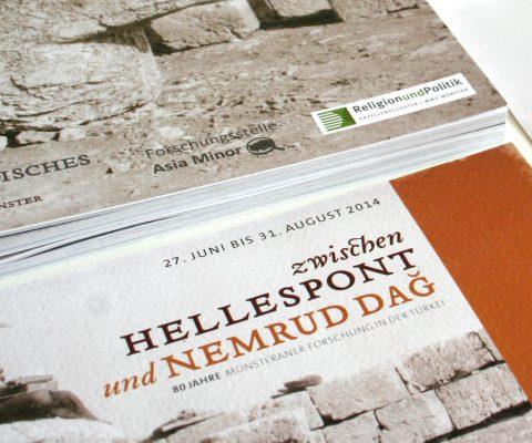 Ausstellungseinladung-Printdesign