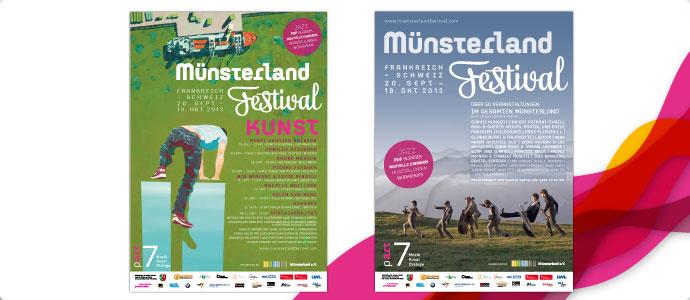 Muensterlandfestival-Plakate