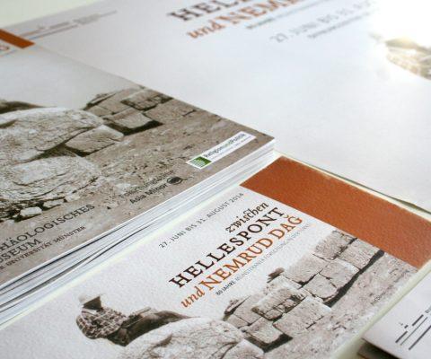 Printmedien-Ausstellung-Komagene