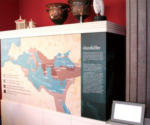 Sonderausstellung Gold & Blei – Archäologisches Museum WWU