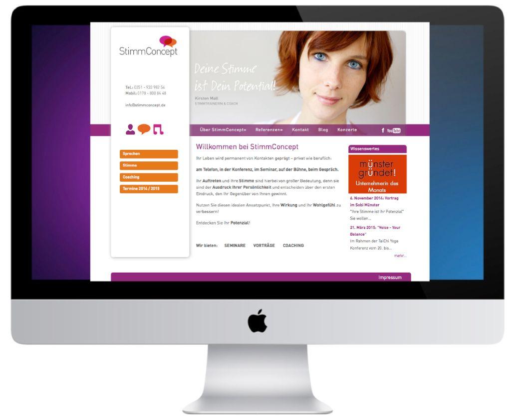 Web-Design-StimmConcept