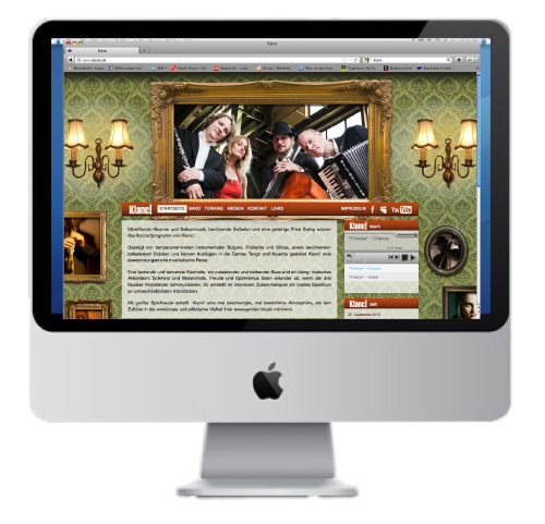 Webdesign-Klanc