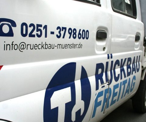 Rückbau Freitag Münster