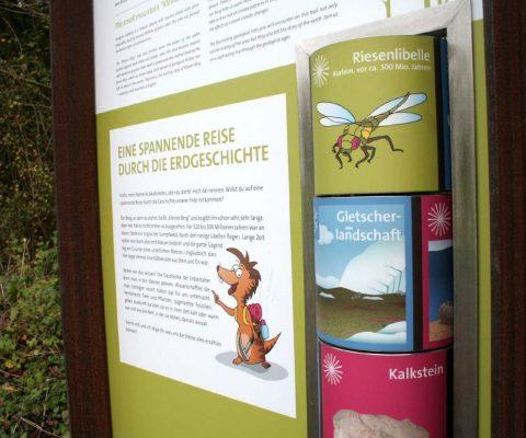 Geologischer Erlebnispfad – Kleiner Berg Bad Laer