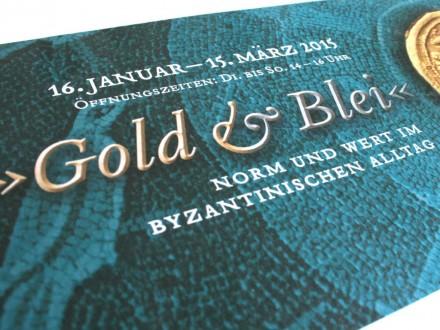 Ausstellung Gold und Blei