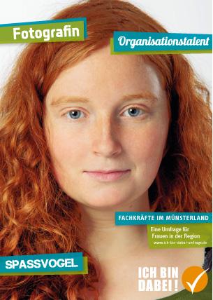 """Münsterland Wirtschaft Kampagne """"Ich bin dabei"""""""