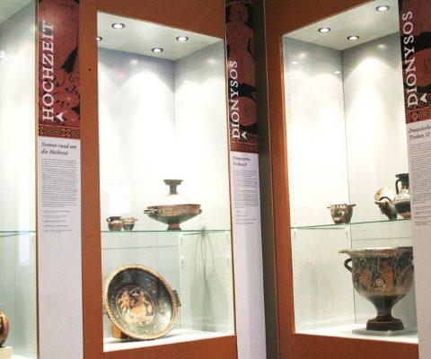 Sonderausstellung Vasen-Bilder-Welten – Archäologisches Museum WWU