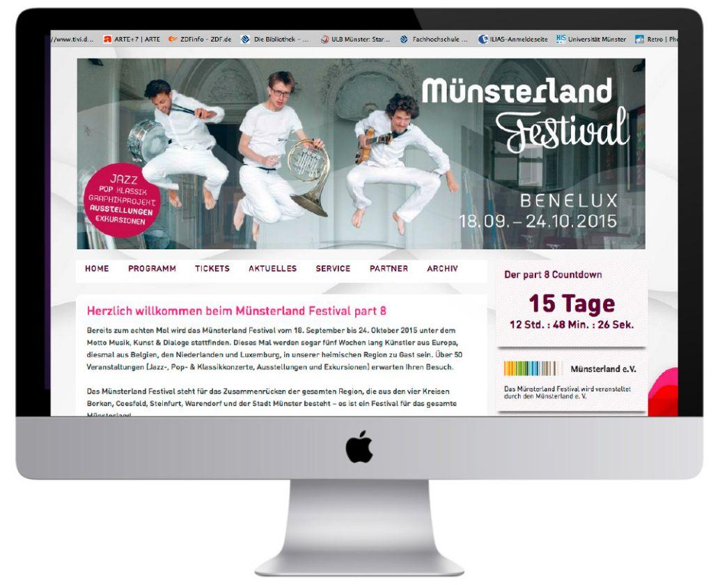 Webauftritt-Muensterland-Festival