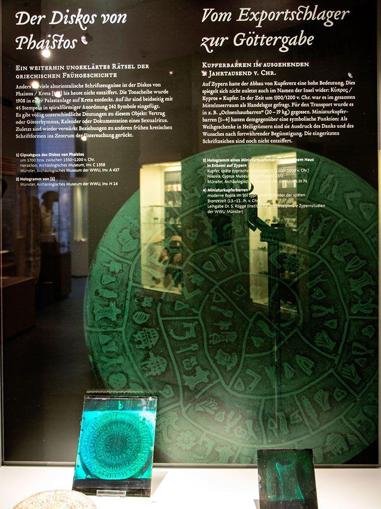 Ausstellung Lichtgestalten – Archäologisches Museum WWU