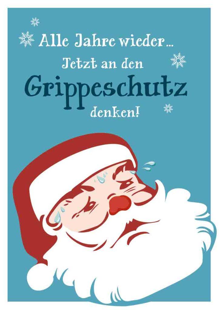 Kampagne Design Grippeschutz