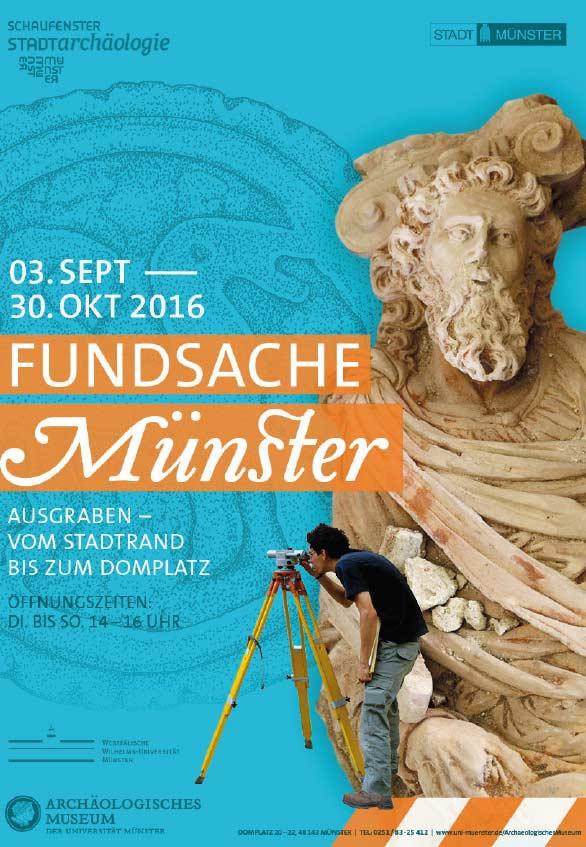 Beitragsbild Ausstellung Fundsache Muenster Archäologie