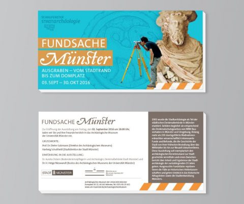 Fundsache Münster – Stadtarchäologie Münster