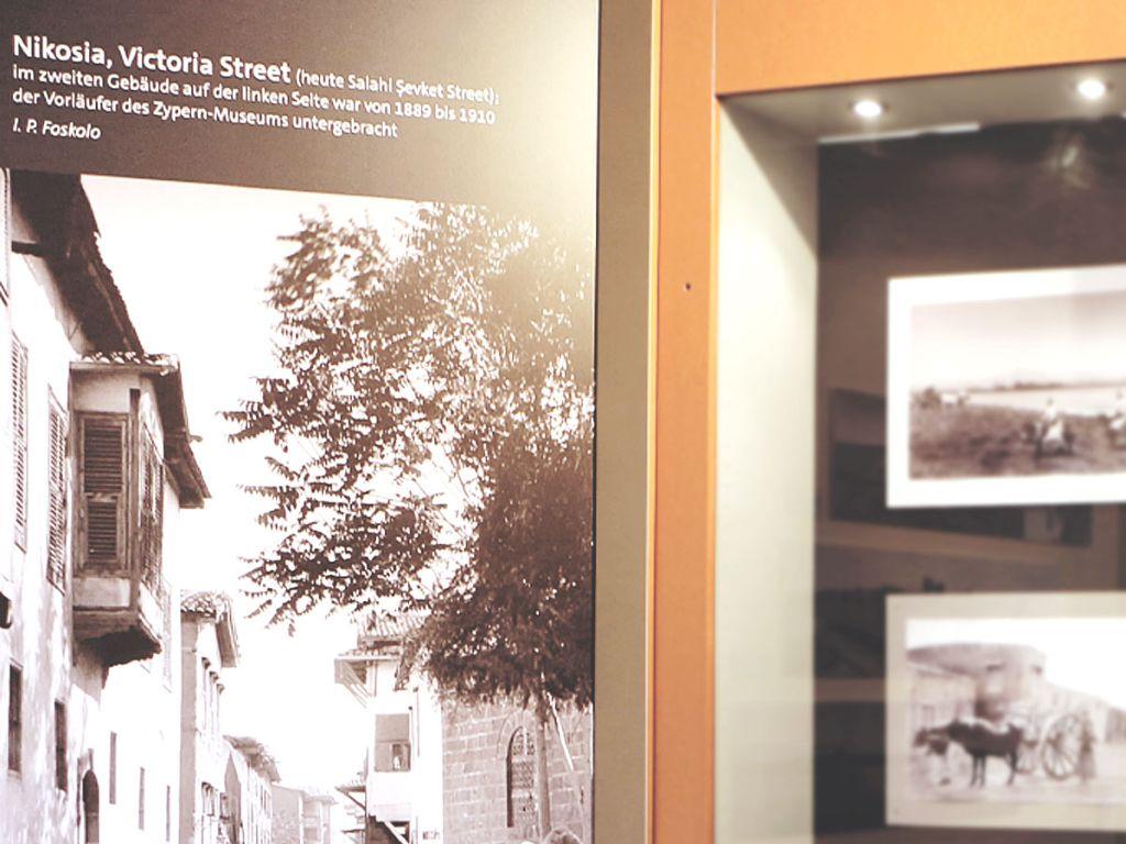 Sonderausstellung Zypern 3 Ausschnitte - Archäologisches Museum WWU