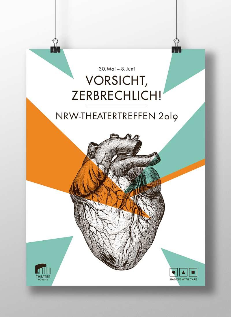 NRW Theatertreffen Plakat