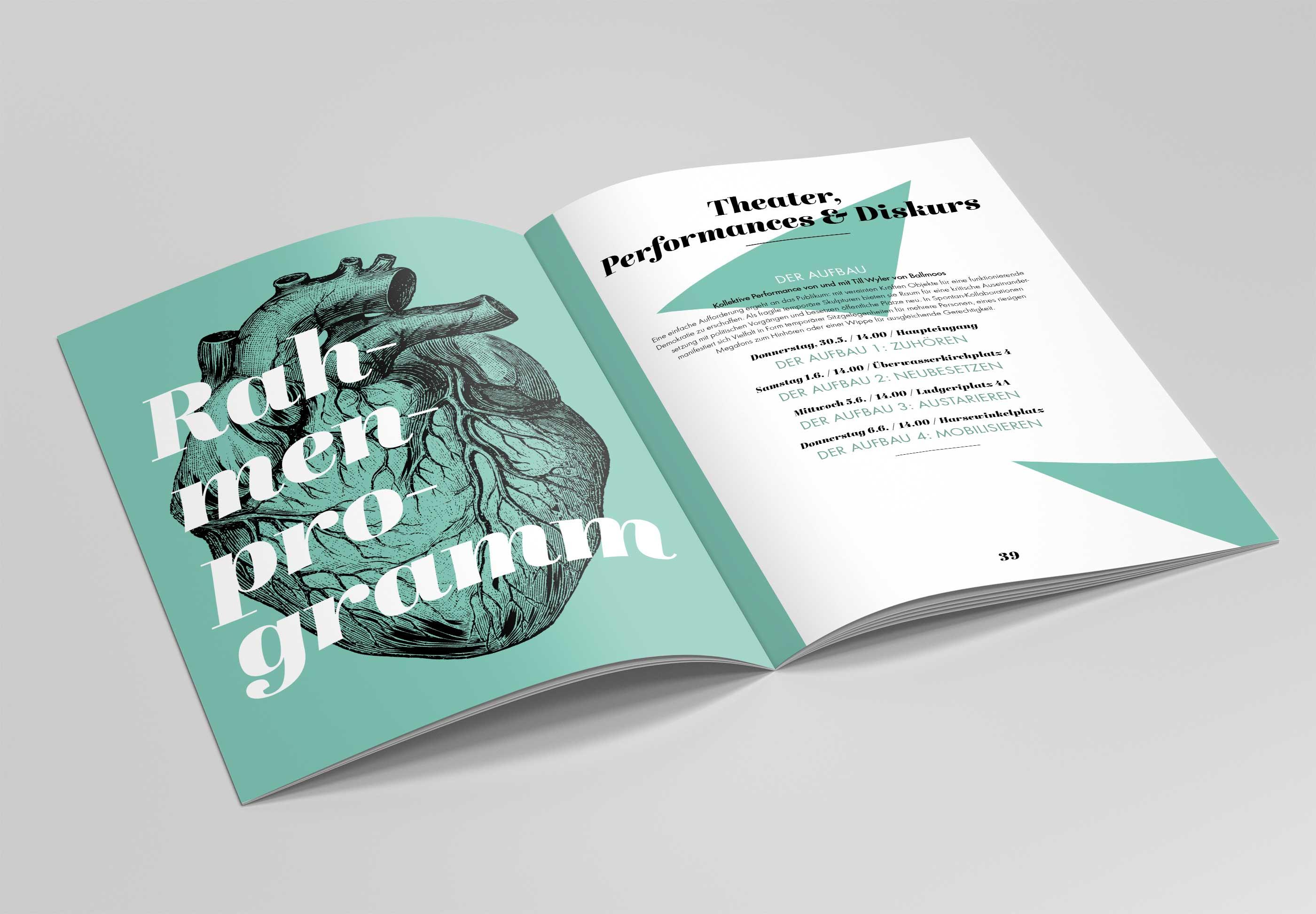 Theatertreffen NRW Magazin Rahmenprogramm